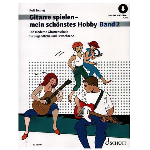 Manuel pédagogique Schott Gitarrespielen - mein schönstes Hobby Bd.2