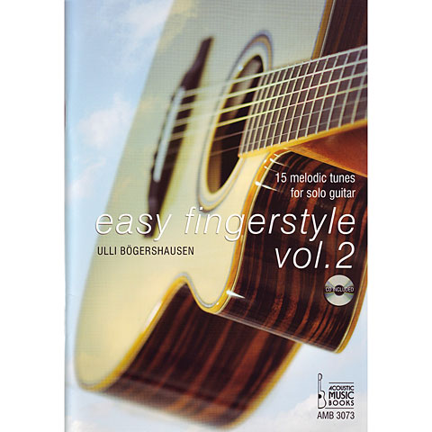 Libros didácticos Acoustic Music Books Easy Fingerstyle Vol.2