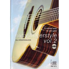 Acoustic Music Books Easy Fingerstyle Bd.2 « Manuel pédagogique