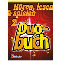De Haske Hören, lesen & spielen 2 - Duobuch für Klarinette « Libro de partituras
