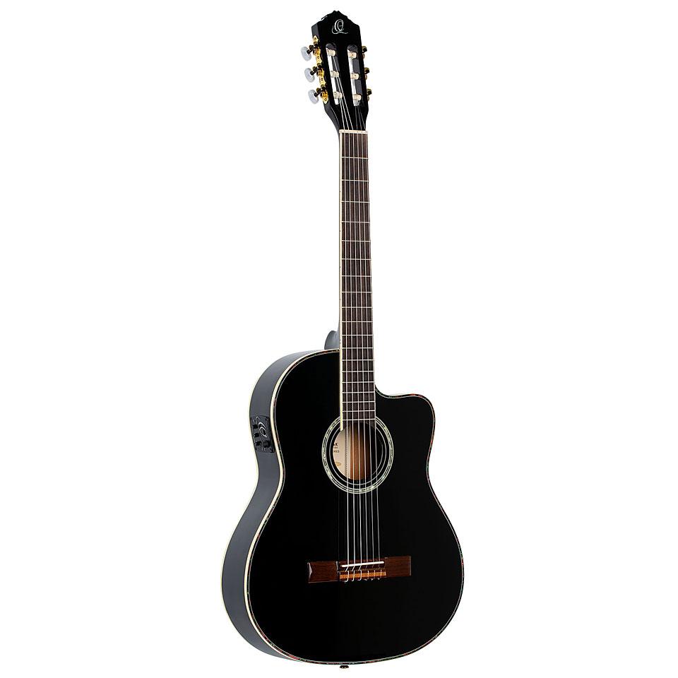 Konzertgitarren - Ortega RCE 145 BK Konzertgitarre - Onlineshop Musik Produktiv