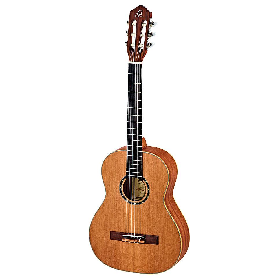 Konzertgitarren - Ortega R 122 L 3 4 Konzertgitarre Lefthand - Onlineshop Musik Produktiv