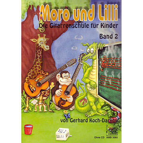 Instructional Book Acoustic Music Books Moro und Lilli Bd.2