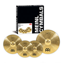 Meinl HCS Complete Cymbal Set-up (14HH/16CR/20R) « Pack de cymbales