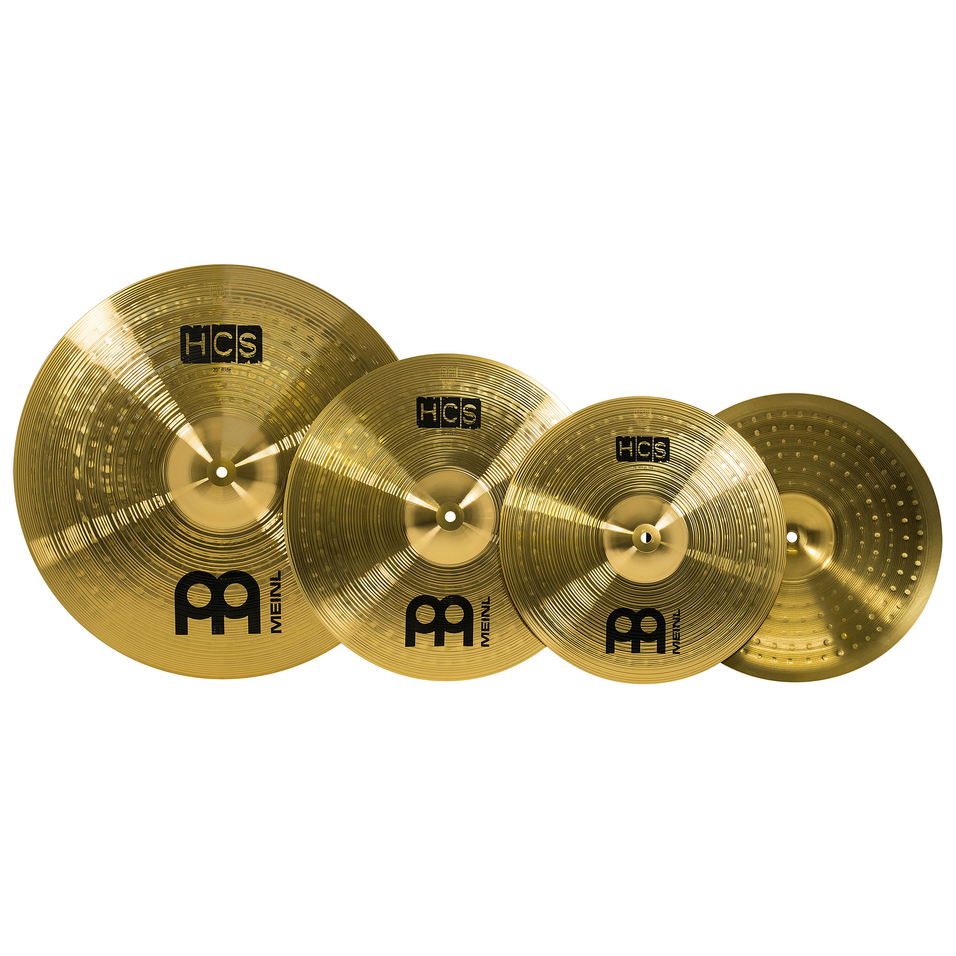 meinl hcs complete cymbal set up 14hh 16cr 20r cymbal set. Black Bedroom Furniture Sets. Home Design Ideas
