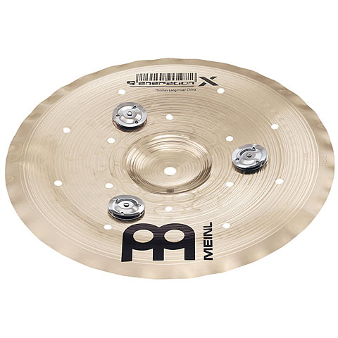 "Cymbale China Meinl 10"" Generation X Jingle Filter China"