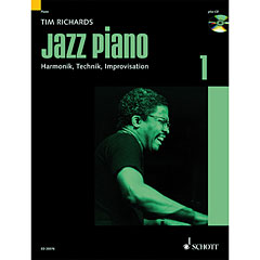 Schott Jazz Piano Bd.1 « Instructional Book