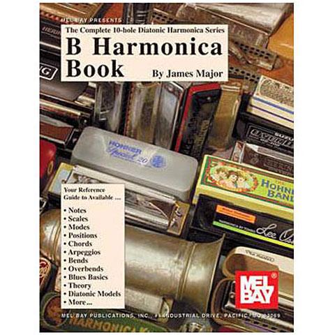 Libro de partituras MelBay B Harmonica Book