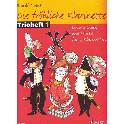 Schott Die fröhliche Klarinette Trioheft 1