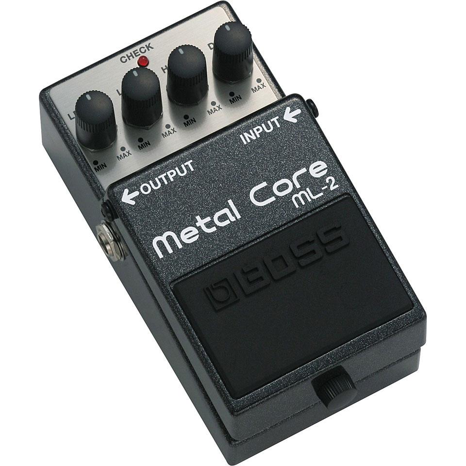 boss ml 2 metal core guitar effect