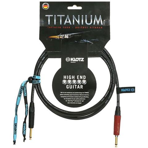 Cable instrumentos Klotz Titanium TI-0600PSP