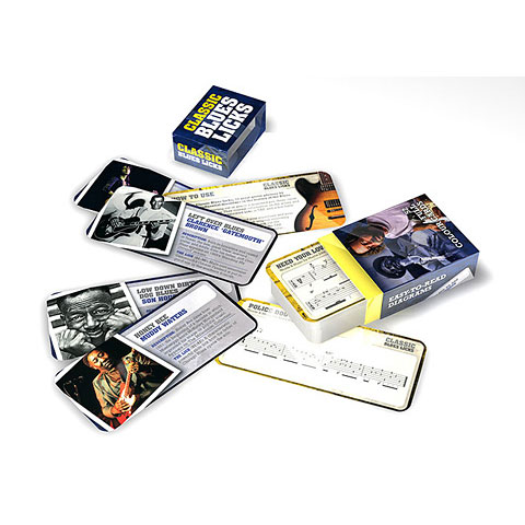 Music Sales Classic Blues Licks Cards
