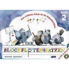 Schuh Die Blockflötenspatzen Bd.2 « Libros didácticos