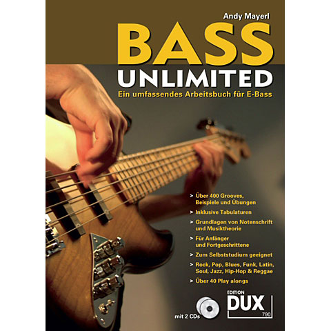 Libros didácticos Dux Bass Unlimited