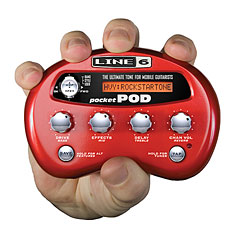 Line 6 Pocket POD « Multieffektgerät E-Gitarre