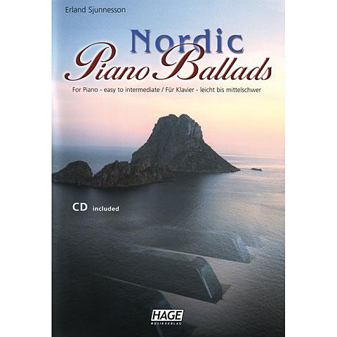 Libro de partituras Hage Nordic Piano Ballads