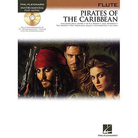 Play-Along Hal Leonard Pirates of the Caribbean for Flute