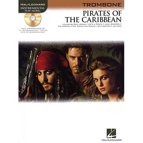 Hal Leonard Pirates of the Caribbean for Trombone