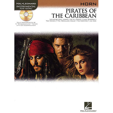 Play-Along Hal Leonard Pirates of the Caribbean for Horn