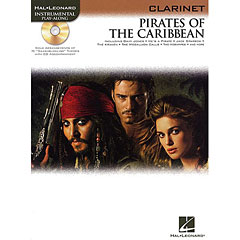 Hal Leonard Pirates of the Caribbean for Clarinet « Play-Along