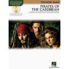 Hal Leonard Pirates of the Caribbean for Tenor-Sax « Play-Along