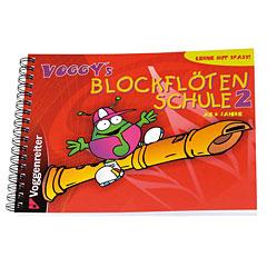 Voggenreiter Voggy's Blockflötenschule Bd.2 « Livre pour enfant