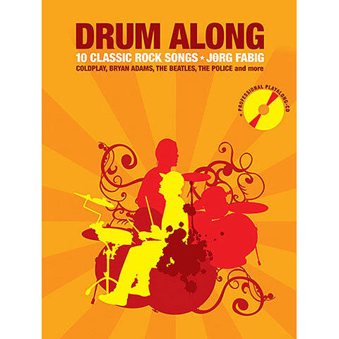 Play-Along Bosworth Drum Along 10 Classic Rock Songs