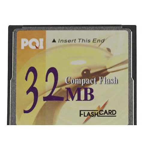 Showtec Compact Flash Card