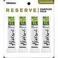 D'Addario Reserve Altsax Sampler Pack 2,5/3,0/3,0/3,0+ « Ance