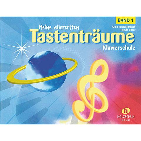 Libro de partituras Holzschuh Meine allerers.Tastenträume 1