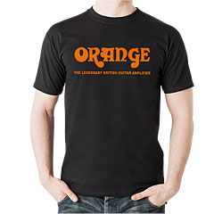 Orange T-Shirt BLK L « Camiseta manga corta