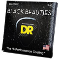 Cuerdas guitarra eléctr. DR Extra-Life Black Beauties