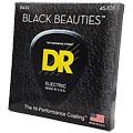 Corde basse électrique DR Extra-Life Black Beauties