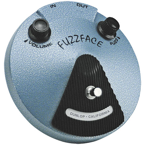 Pedal guitarra eléctrica Dunlop Jimi Hendrix JHF1 Fuzz Face