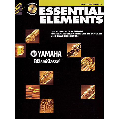 Libros didácticos De Haske Essential Elements Band 1 - Partitur + CD