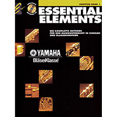 De Haske Essential Elements Band 1 - Partitur + CD « Libros didácticos