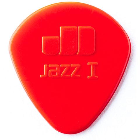 Púa Dunlop Nylon Jazz I rojo (6 unid.)