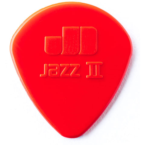 Púa Dunlop Nylon Jazz II Red 1,18 mm (6 pcs)