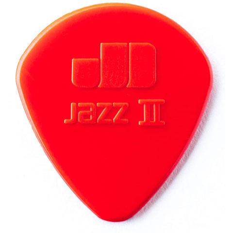 Dunlop Nylon Jazz II rojo (6 unid.)