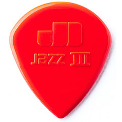 Dunlop Nylon Jazz III Red 1,38 mm (6 pcs) « Plektrum