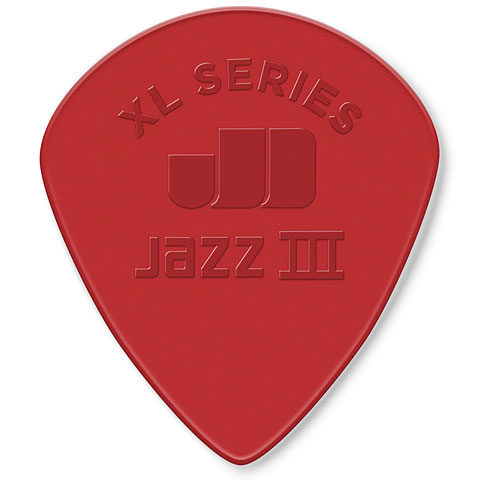 Púa Dunlop Nylon Jazz III XL Red 1,38 mmt (6 pcs)
