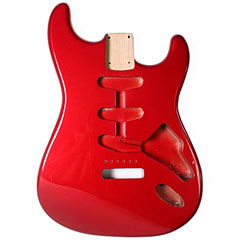 Göldo Strat US Erle, Candy Apple Red « Corps