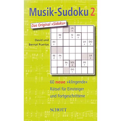 Schott Musik-Sudoku 2
