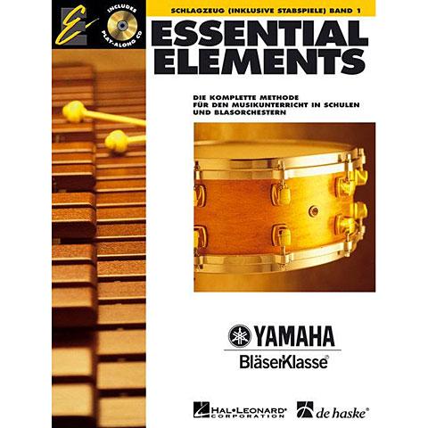 Lehrbuch De Haske Essential Elements Band 1 - für Schlagzeug (inklusive Stabspiele)
