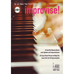 Acoustic Music Books Improvise ! « Recueil de Partitions