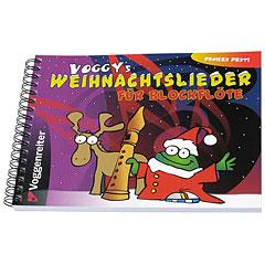 Voggenreiter Voggys Weihnachtslieder für Blockflöte « Notenbuch