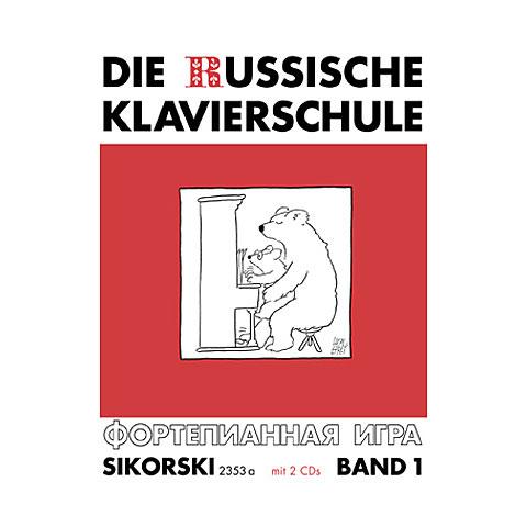 Sikorski Die Russische Klavierschule Bd.1 inkl. 2 CDs