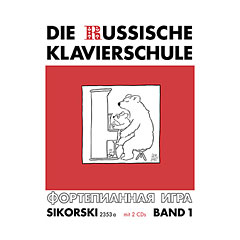 Sikorski Die Russische Klavierschule Bd.1 inkl. 2 CDs « Instructional Book