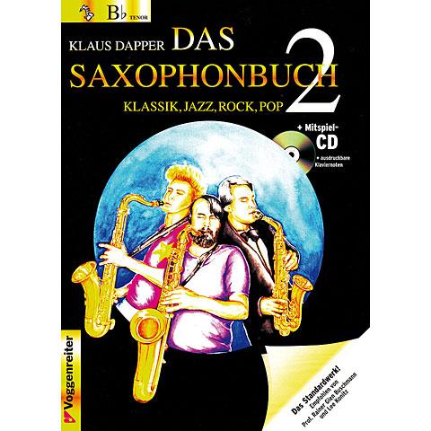 Voggenreiter Das Saxophonbuch Bd.2 - Bb Version