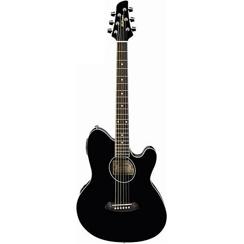 Guitare acoustique Ibanez Talman TCY10E-BK
